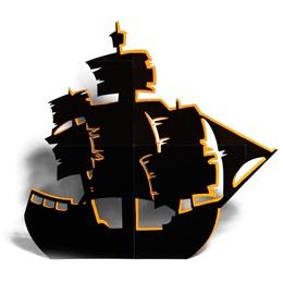 Large Ship Silhouette Kit